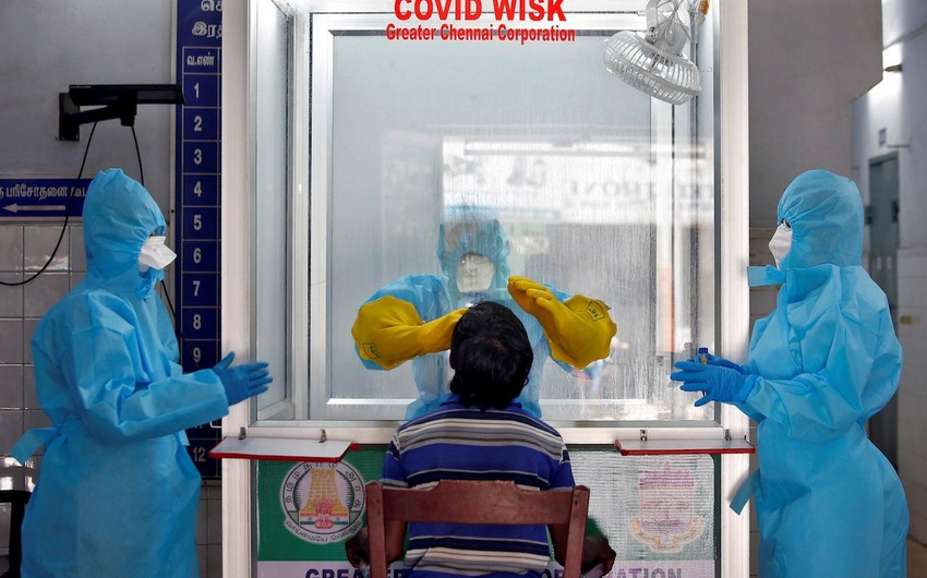 Hindistanda koronavirusa yoluxanların sayı 880 minə çatır