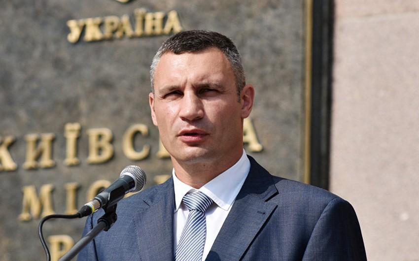 Zelenskinin administrasiyası Kliçkonun Kiyev meri vəzifəsindən azad olunması üçün təqdimat verəcək