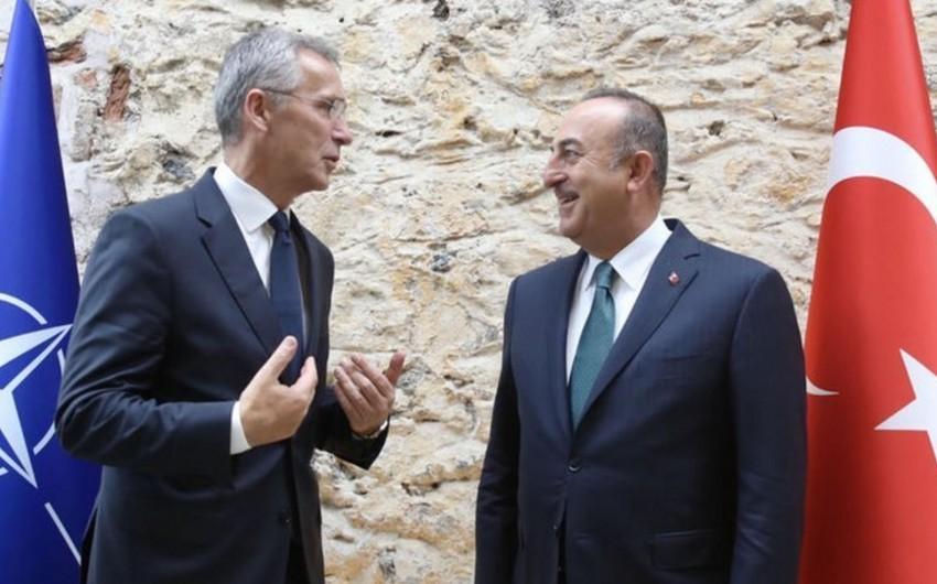Türkiyə XİN başçısı NATO-nu ikili standartlarla yanaşmada ittiham edib
