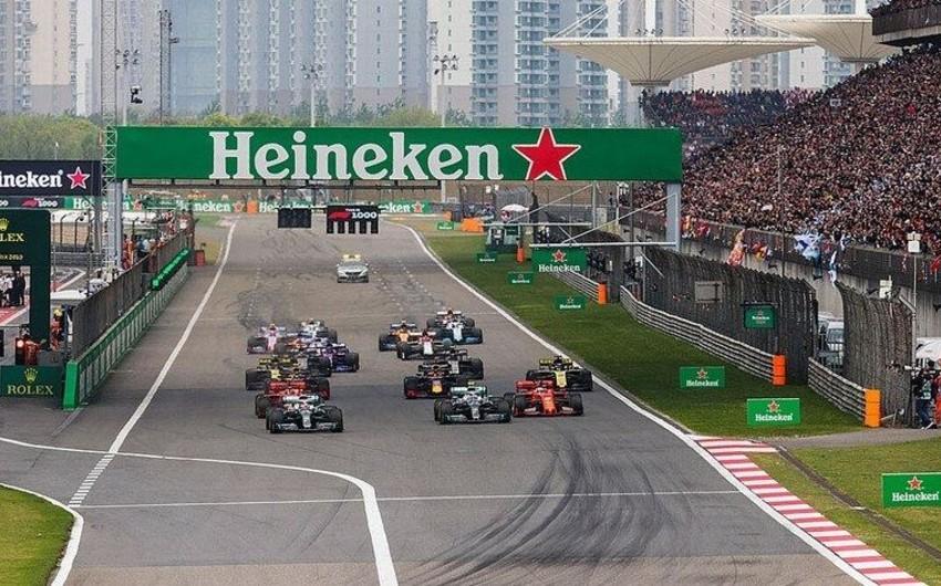 Formula 1: Çin Qran-prisi də təxirə salınır