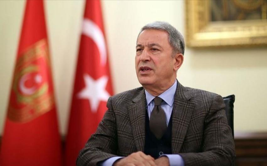 Hülusi Akar: Terrorçular kimyəvi silahdan istifadə edib suçu Türkiyə ordusunun üstünə atmağa çalışacaqlar