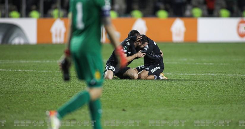 UEFA Abbas Hüseynovun qolunu fərqləndirib