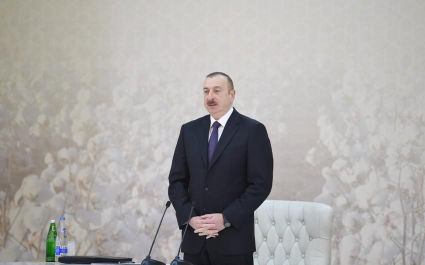 Prezident İlham Əliyev: Bir il ərzində xarici borcumuz 4 faiz aşağı düşüb