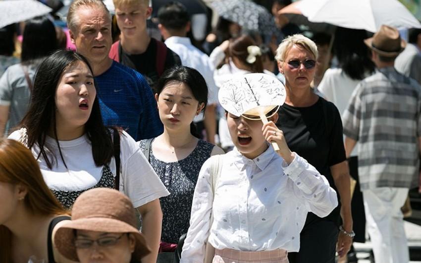 Yaponiyada anomal istilər qeydə alınıb
