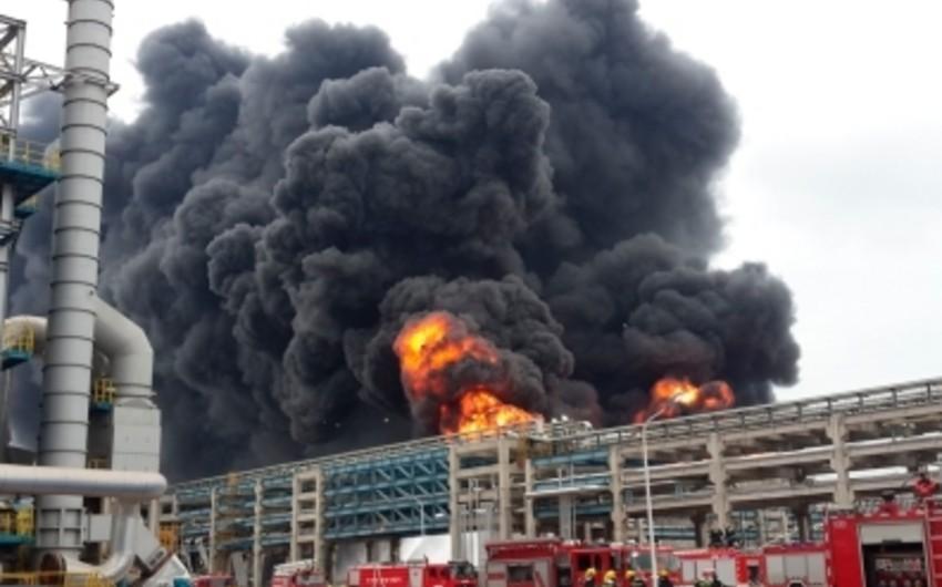 Çində yanğın baş verib: 5 ölü, 4 yaralı