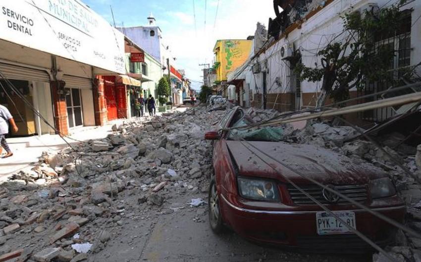 Meksikanın cənubunda 5,5 bal gücündə zəlzələ olub