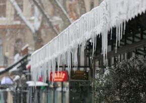 ETSN: Ən aşağı temperatur göstəriciləri şimal-şərq rayonlarında olub