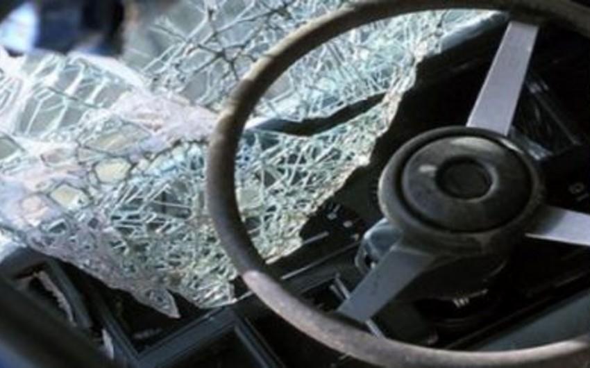 Masallı-Yardımlı yolunda baş verən qəzada bir nəfər ölüb