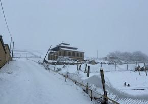 Завтра в Азербайджане в горной местности выпадет снег