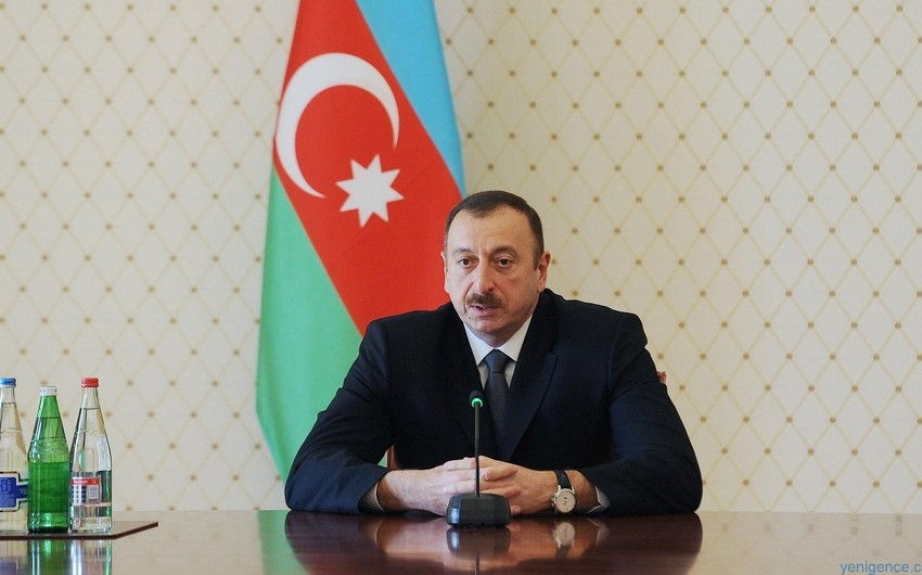 Azərbaycan Prezidenti Gürcüstanın müdafiə nazirini qəbul edib