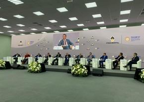 Президент SOCAR выступил на Петербургском международном экономическом форуме