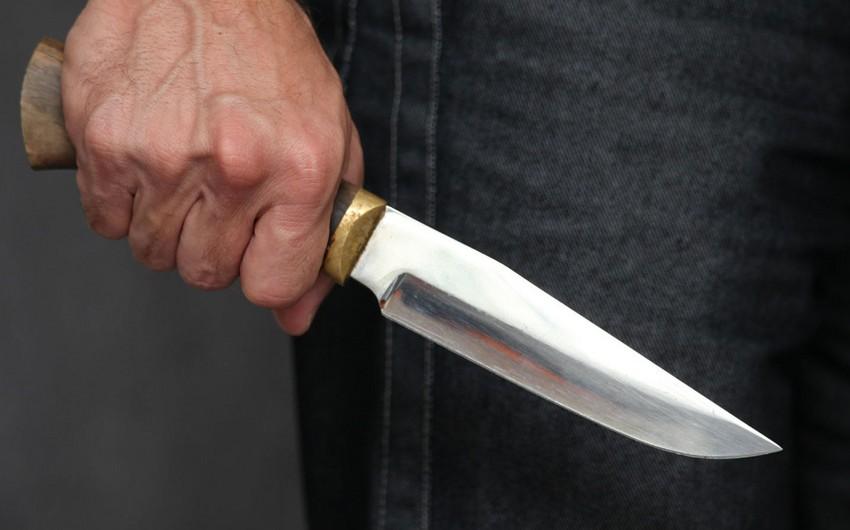 Ağstafada 58 yaşlı kişi bıçaqlanıb