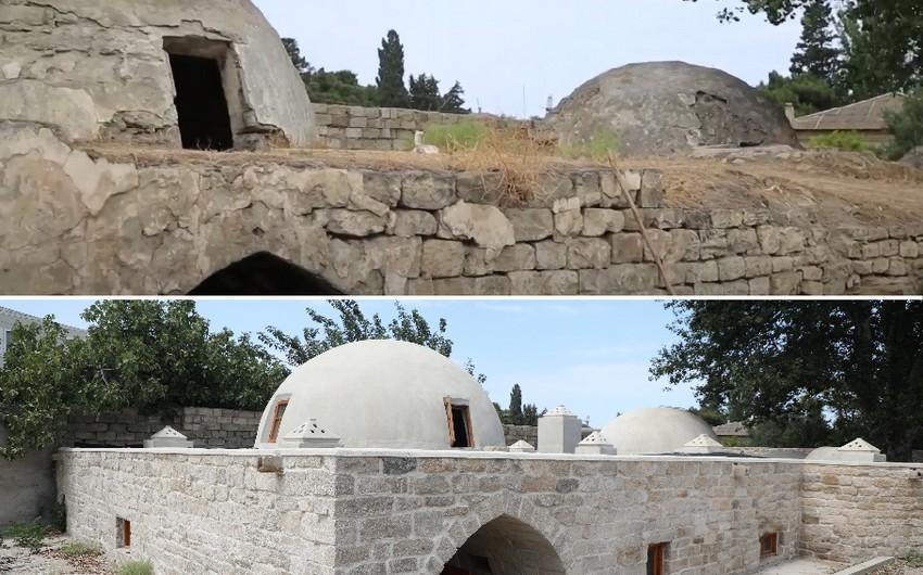 Tarixi Qum hamamı bərpa olunub