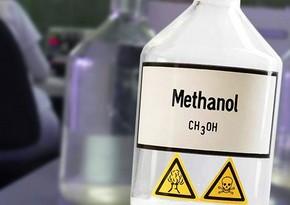 Methanol production down in Azerbaijan