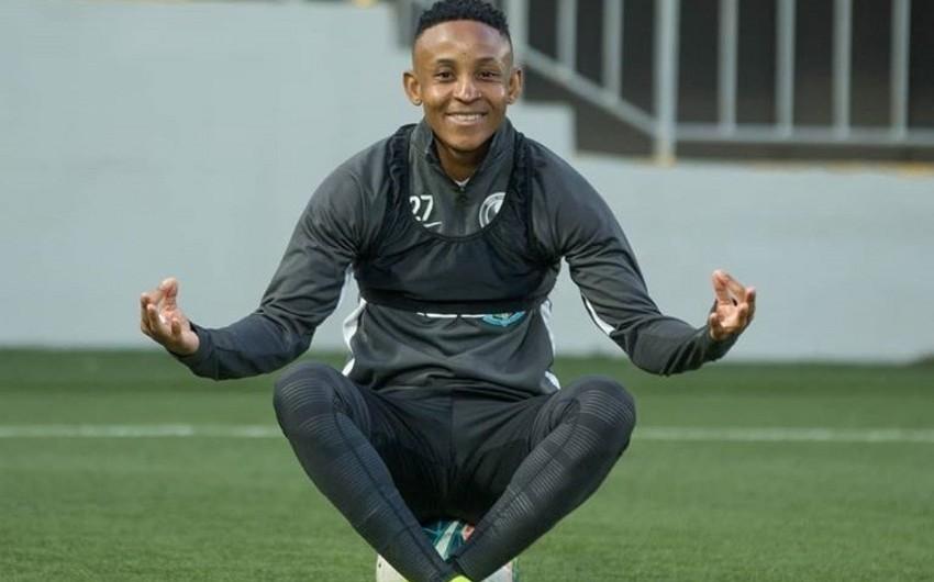 Afrikalı futbolçu Səbaildən ayrılır