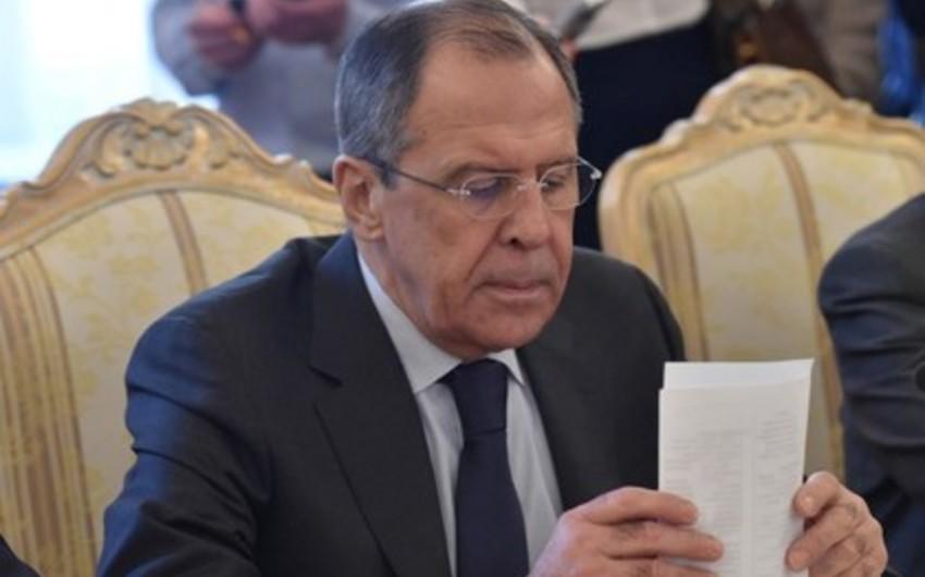 Lavrov: ABŞ ikili standart siyasətini davam etdirir