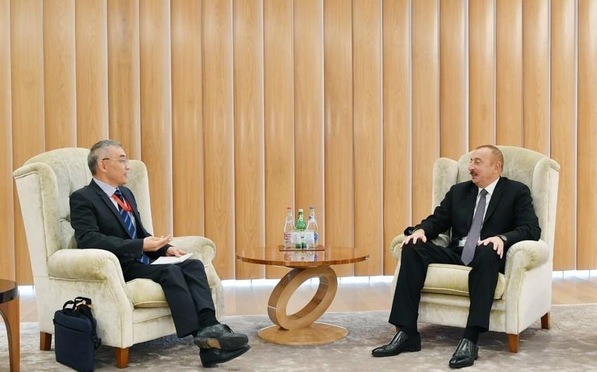 Azərbaycan Prezidenti UNESCO-nun baş direktorunun müavinini qəbul edib - YENİLƏNİB