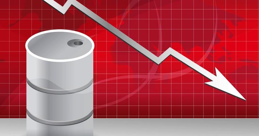 Azerbaijani oil price drops sligtly