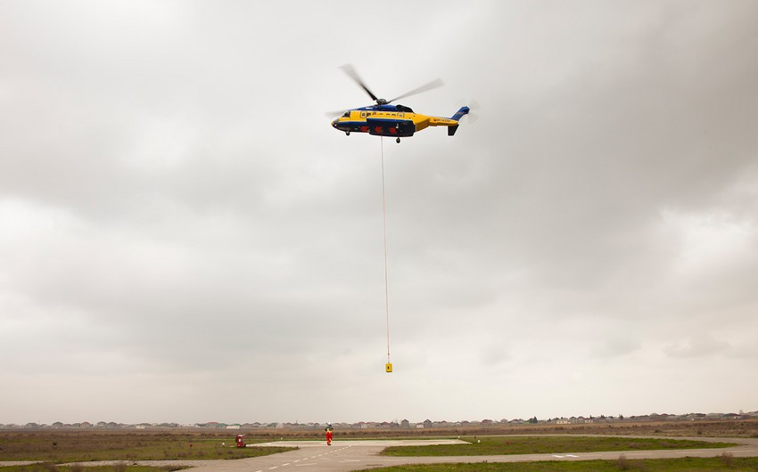 Silk Way Helicopter Services expands its scope of service in oil and gas sector - VIDEO