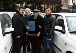 50 cars presented to Karabakh war invalids