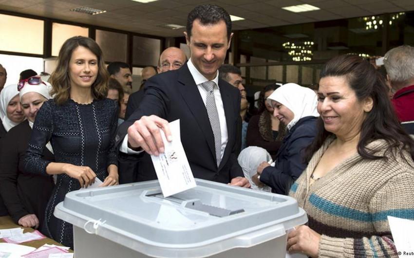 Suriyada keçirilən parlament seçkilərində hakim partiya qalib gəlib