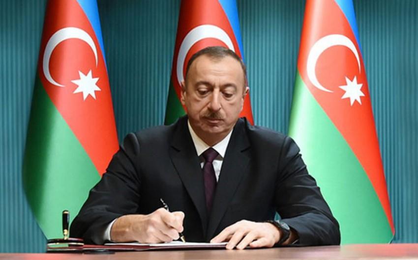 Prezident İlham Əliyev İslam Kərimova təbrik məktubu göndərib