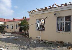 Армяне сбросили артиллерийский снаряд на школу в Тертере