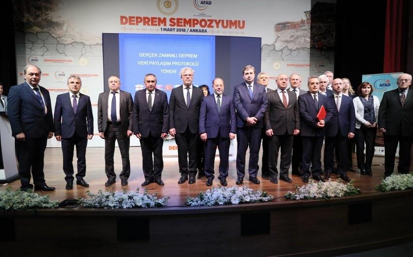 Azərbaycanla Türkiyə arasında seysmoloji məlumatların mübadiləsinə dair memorandum imzalanıb