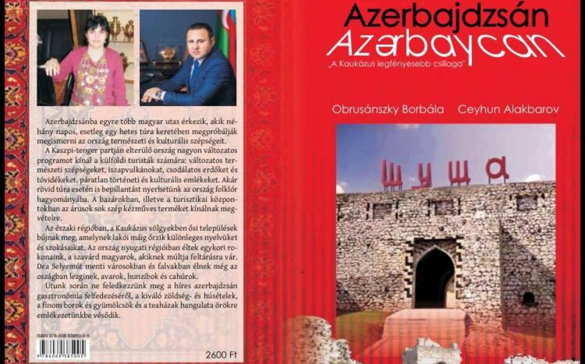 "Shining star of the Caucasus - Azerbaijan"" book published in Hungarian"