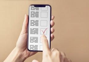 Azerbaijan may hold elections via mobile phones