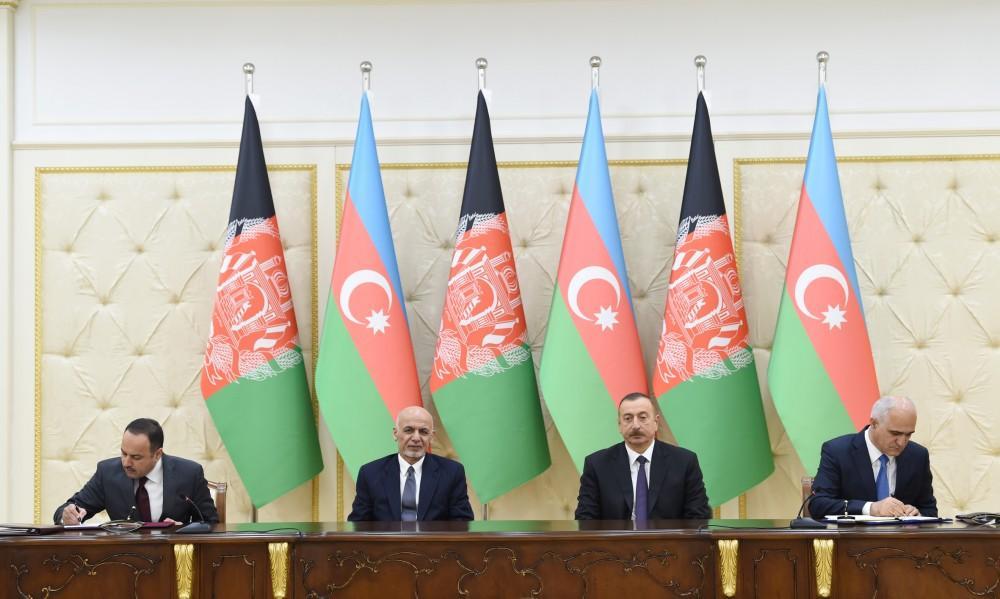 Подписаны азербайджано-афганские документы