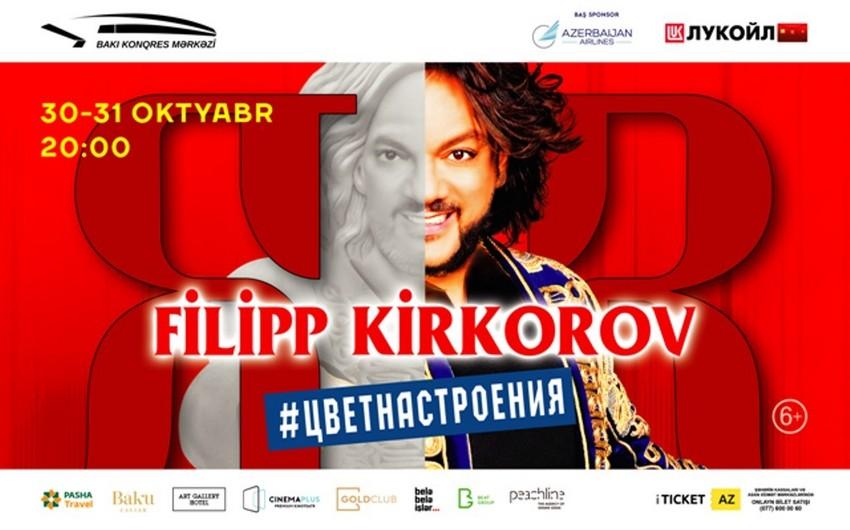 Filipp Kirkorov Bakıda yeni şou proqram təqdim edəcək  - VİDEO