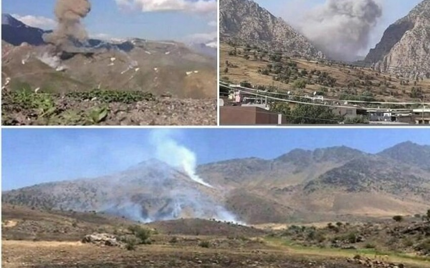 Iran strikes at PKK positions in Iraq