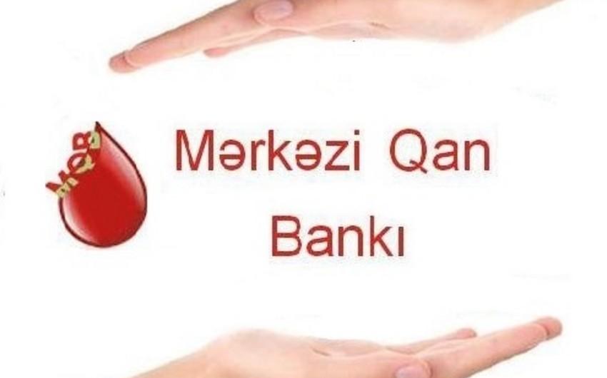 Mərkəzi Qan Bankında qanvermə kampaniyası keçirilib
