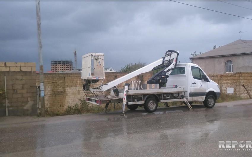 Bakı və Abşeronda elektrik enerjisinin verilməsində fasilələr yaranıb