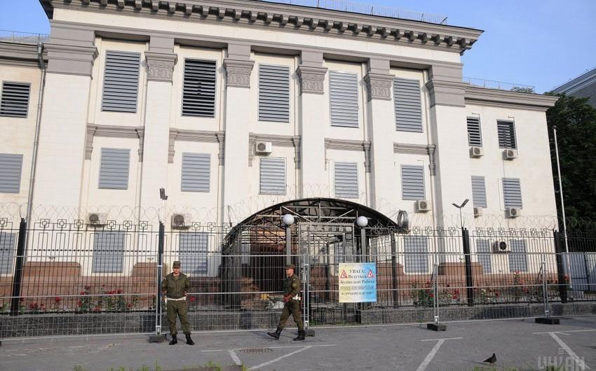 Rusiyanın Kiyevdəki konsulluğuna tüstü şaşkaları atılıb