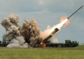 ВС Армении продолжают ракетный обстрел Тертера
