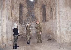 Президент: Тот факт, что албанский храм находится в таком состоянии, еще раз демонстрирует фальсификации армян