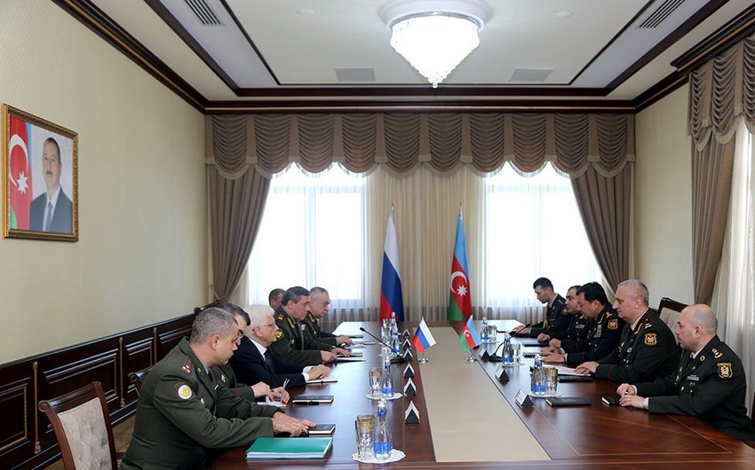 Azerbaijan and Russia discuss prospects for military-technical cooperation