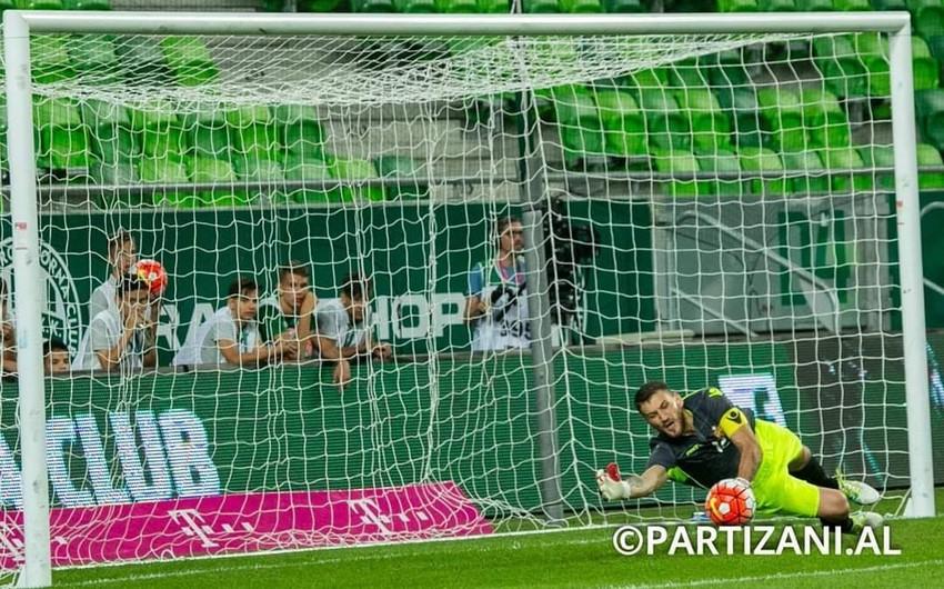 Albaniya çempionu Qarabağla oyunda penalti seriyasına köklənib