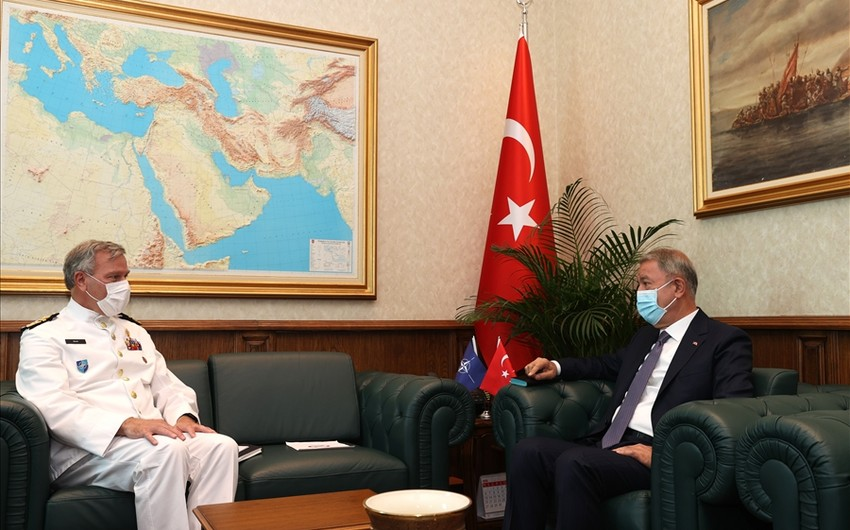 Hulusi Akar meets with chair of NATO Military Committee