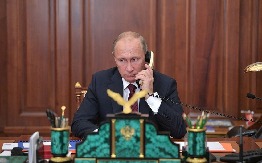 Putin Avropa İttifaqı Şurasının rəhbəri ilə danışıb