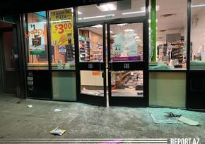 New York: Floyd protestors loot luxury stores
