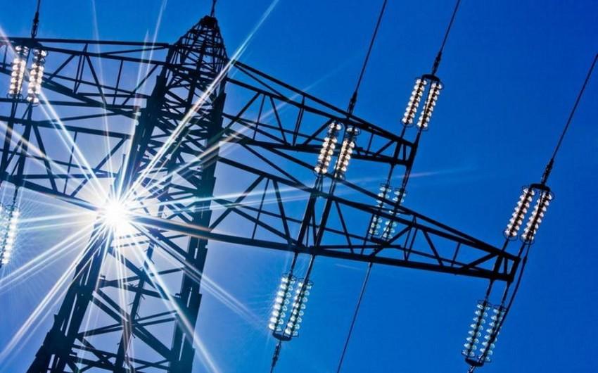 Gürcüstanın ötənilki elektrik enerjisi ixracının 5%-i Azərbaycanın payına düşüb