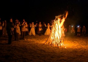 Azerbaijan celebrates Fire Tuesday
