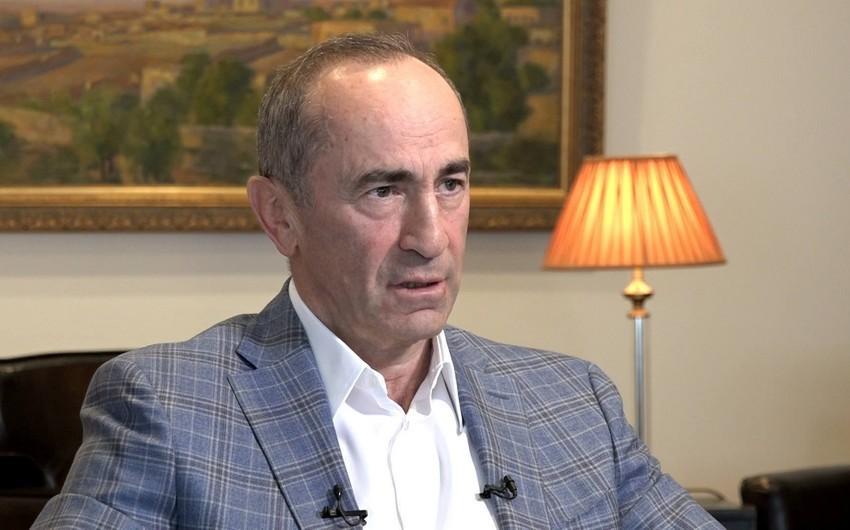 Кочарян призвал экс-президентов Армении вместе бороться против власти