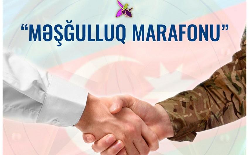"KOBİA ""Məşğulluq marafonu""na qoşulub"