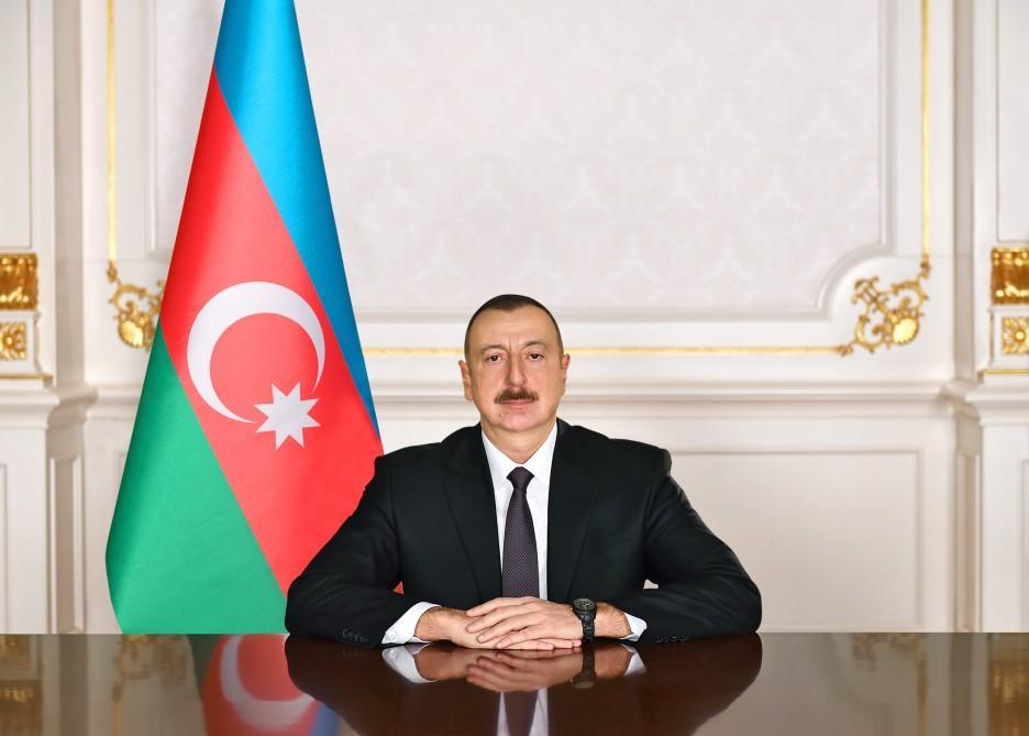 Президент Ильхам Алиев направил письмо пакистанскому коллеге