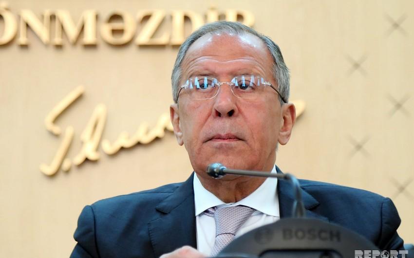 Sergey Lavrov özünü Rusiya prezidentliyinə namizəd qismində görmür