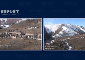 Footage from Otagli village of Kalbajar region